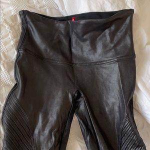 SPANX Moto Leggings